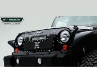 Torch Series X Metal Custom Grille w/LED Driving Lights