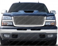 Replacement Chrome Mesh Grille Assembly