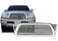 All Chrome Replacement Billet Style Grille