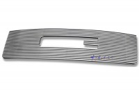 CNC Machined Billet Grille Overlay Logo Opening (Polished)