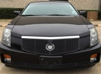 CNC Machined Perimeter Billet Grille (All Black)