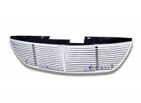 CNC Machined Billet Grille w/Center Bar (Polished)