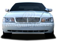 All Chrome Replacement Vertical Bar Grille