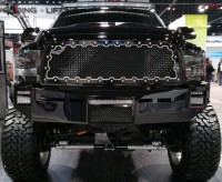 BRUTE Custom Machined Grille (Black/Silver)