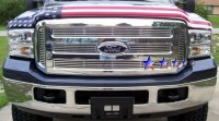 Solid Machined Billet Grille 6pc