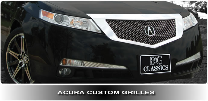 Acura Custom Grilles And Billet Grilles - Acura mdx front grill