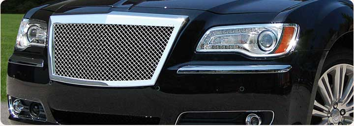 chrysler 300 300c custom grilles parts accessories. Black Bedroom Furniture Sets. Home Design Ideas