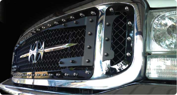 05 07 Ford F250 F350 Super Duty Billet Grill Billet